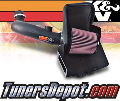 K&N® Aircharger Intake System - 07-10 Jeep Compass 2.4L
