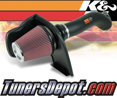 K&N® Aircharger Intake System - 07 GMC Sierra 2500 HD 6.0L (Classic Body Style)