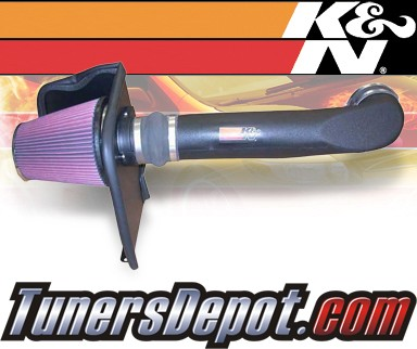 K&N® Aircharger Intake System - 07 GMC Sierra 2500 HD 8.1L (Classic Body Style)