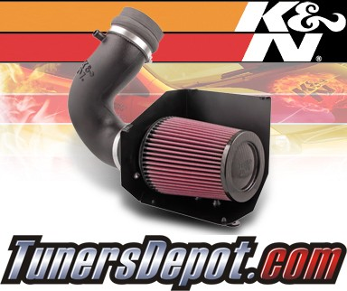 K&N® Aircharger Intake System - 07 Porsche 911 GT3 H6 3.6L