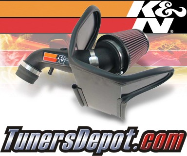 K&N® Aircharger Intake System - 08-09 Chrysler PT Cruiser 2.4L Non-Turbo