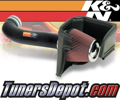 K&N® Aircharger Intake System - 08-09 Dodge Charger 5.7/6.1L