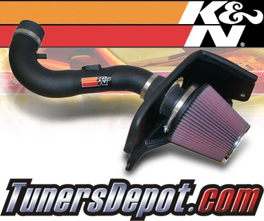K&N® Aircharger Intake System - 08-09 Ford Mustang 4.0L