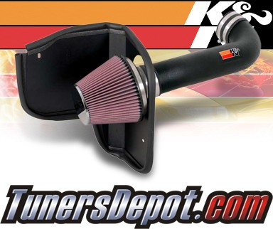K&N® Aircharger Intake System - 08-09 Jeep Grand Cherokee 5.7l V8 F/I - All