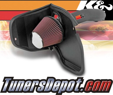 K&N® Aircharger Intake System - 08-09 Jeep Liberty 3.7L