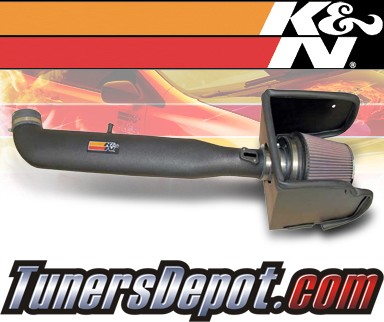 K&N® Aircharger Intake System - 08-09 Nissan Frontier V6 4.0L