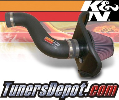 K&N® Aircharger Intake System - 08-10 Dodge Charger 2.7L