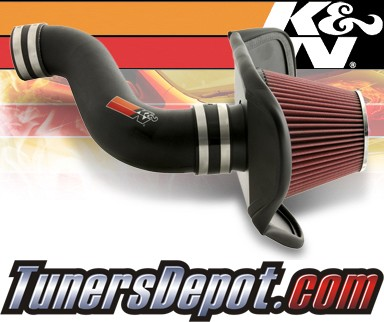K&N® Aircharger Intake System - 08-10 Dodge Charger 3.5L