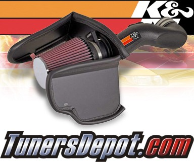 K&N® Aircharger Intake System - 08 Chevy TrailBlazer 6.0L