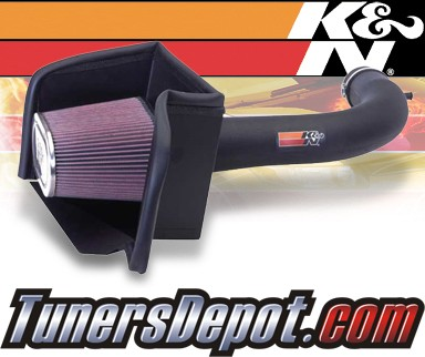 K&N® Aircharger Intake System - 08 Dodge Ram 1500 3.7L