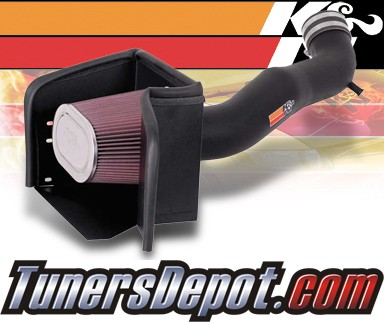 K&N® Aircharger Intake System - 08 Dodge Ram 3500 5.7L