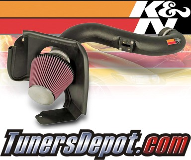 K&N® Aircharger Intake System - 08 Ford Explorer 4.6L
