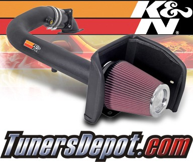 K&N® Aircharger Intake System - 08 Ford F-150 F150 5.4L