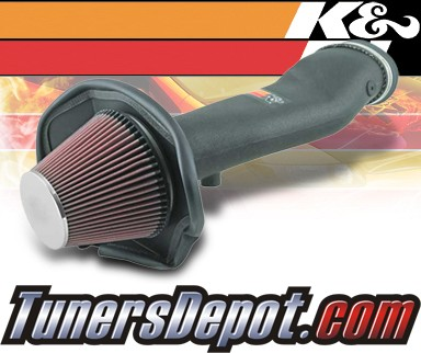 K&N® Aircharger Intake System - 08 Ford Mustang Shelby 5.4L