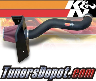 K&N® Aircharger Intake System - 08 Jeep Grand Cherokee 4.7L