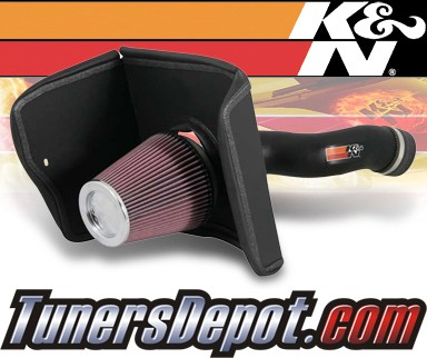 K&N® Aircharger Intake System - 08 Toyota Sequoia 5.7L