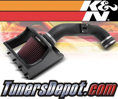 K&N® Aircharger Intake System - 09-10 Ford F-150 F150 4.6L V8