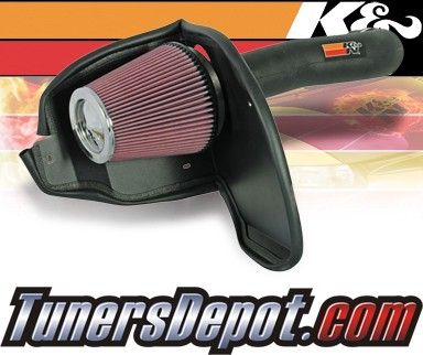 K&N® Aircharger Intake System - 2008 Dodge Nitro 3.7L