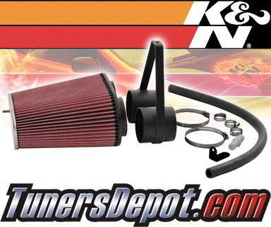 K&N® Aircharger Intake System - 96 Ford Bronco 5.0/5.8L (w/o Mass Air)