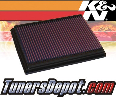 K&N® Drop in Air Filter Replacement - 00-02 Chrysler PT Cruiser 2.4L 4cyl