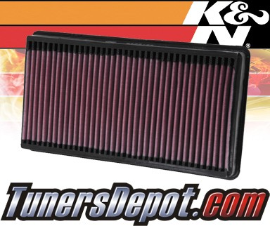 K&N® Drop in Air Filter Replacement - 00-03 Ford F550 F-550 7.3L V8 Diesel