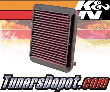 K&N® Drop in Air Filter Replacement - 00-03 Toyota Prius 1.5L 4cyl