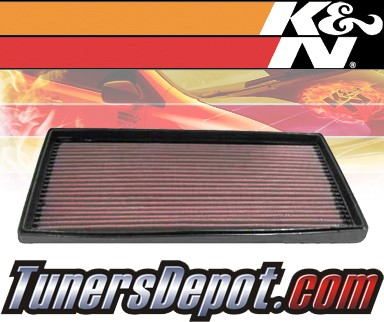 K&N® Drop in Air Filter Replacement - 00-04 Kia Spectra 1.8L 4cyl