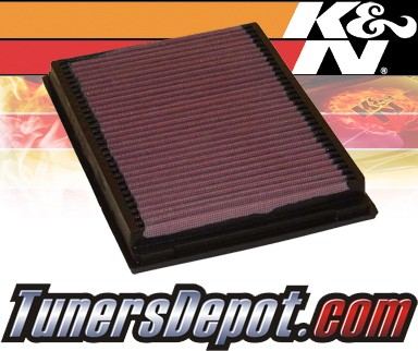 K&N® Drop in Air Filter Replacement - 00-05 BMW 325i E46 2.5L L6