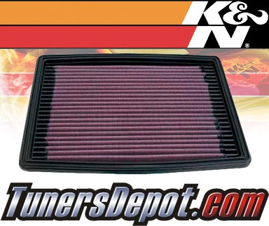 K&N® Drop in Air Filter Replacement - 00-05 Cadillac DeVille 4.6L V8