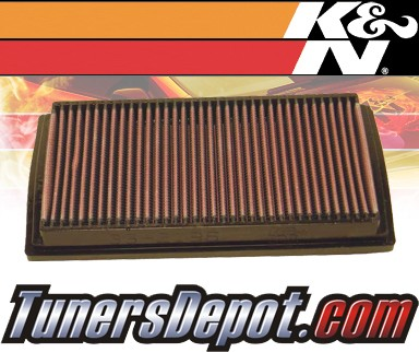 K&N® Drop in Air Filter Replacement - 00-05 Kia Rio 1.3L 4cyl