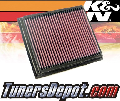 K&N® Drop in Air Filter Replacement - 00-05 Land Rover Freelander 2.5L V6