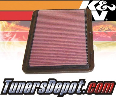 K&N® Drop in Air Filter Replacement - 00-05 Saturn L-Series 3.0L V6