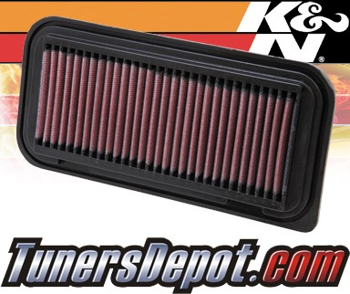 K&N® Drop in Air Filter Replacement - 00-05 Toyota Echo 1.5L 4cyl