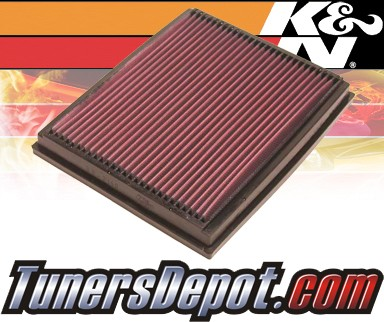 K&N® Drop in Air Filter Replacement - 00-06 BMW X5 E53 4.4L V8