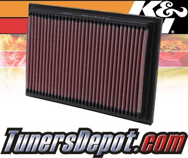 K&N® Drop in Air Filter Replacement - 00-06 Hyundai Accent 1.5L 4cyl