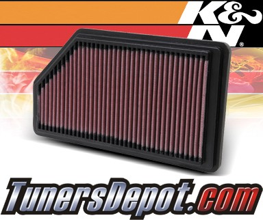 K&N® Drop in Air Filter Replacement - 01-02 Acura MDX 3.5L V6