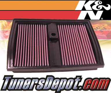 K&N® Drop in Air Filter Replacement - 01-02 Mercedes S600 W220 5.8L V12
