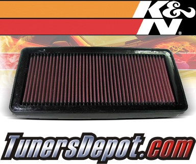 K&N® Drop in Air Filter Replacement - 01-03 Acura CL 3.2 Type-S 3.2L V6