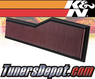 K&N® Drop in Air Filter Replacement - 01-03 Porsche 911 Carrera 3.6L H6