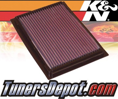 K&N® Drop in Air Filter Replacement - 01-05 Mazda Tribute 2.0L 4cyl