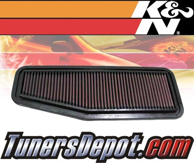 K&N® Drop in Air Filter Replacement - 01-05 Toyota Previa 2.4L 4cyl
