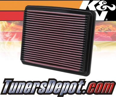 K&N® Drop in Air Filter Replacement - 01-06 Kia Optima 2.4L 4cyl