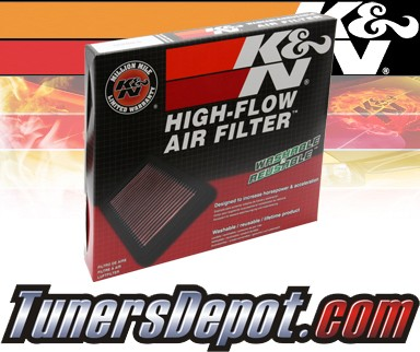 K&N® Drop in Air Filter Replacement - 01-09 Mazda B2300 2.3L 4cyl