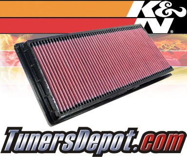 K&N® Drop in Air Filter Replacement - 01-10 Jaguar X-Type 3.0L V6