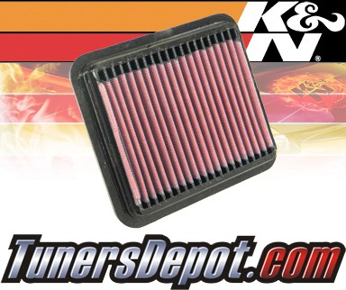 K&N® Drop in Air Filter Replacement - 02-02 Suzuki Aerio 2.0L 4cyl