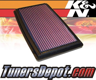K&N® Drop in Air Filter Replacement - 02-03 Mazda MPV 3.0L V6