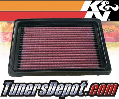 K&N® Drop in Air Filter Replacement - 02-04 Pontiac Sunfire Ecotec 2.2L 4cyl