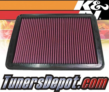 K&N® Drop in Air Filter Replacement - 02-06 Kia Sorento 2.4L 4cyl