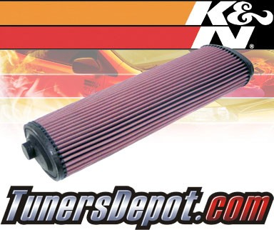 K&N® Drop in Air Filter Replacement - 02-06 Land Rover Range Rover III 3.0L L6 Diesel