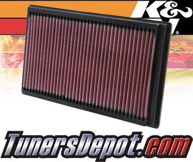 K&N® Drop in Air Filter Replacement - 02-08 Mini Cooper S 1.6L 4cyl